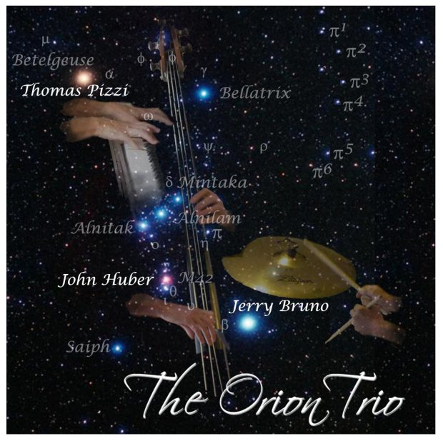 "The Orion Trio has been in existence since Fall, 2012 when we made our debut at Garvino's in Sumpter Landing. It is the lucky meeting of three of the best musicians in The Villages: Jerry Bruno – drums, John Huber – upright bass, and Thomas Pizzi – piano. We are highly experienced professionals, having played all our lives and still enjoy playing. We play traditional jazz standards in a (mostly) traditional jazz fashion. To read our bios, please see the 'About The Trio' page. To find out where we are playing, please see our 'Upcoming Performances' page. For pictures and recordings, please see the ""Media' page."
